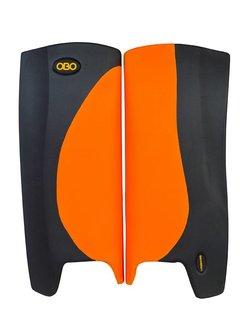 Obo Robo Hi-Rebound Legguards Orange/Schwarz