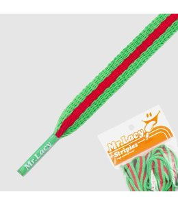 Mr. lacy Stripies Kelly Groen/Rood