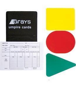 Grays Scheidsrechterskaarten