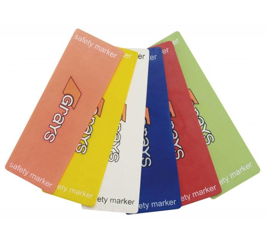 Fieldmarker Oranje (6 pack)
