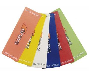 Grays Fieldmarker Wit (6 pack)