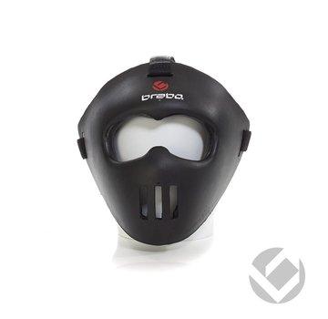 Brabo Facemask Zwart all-fit
