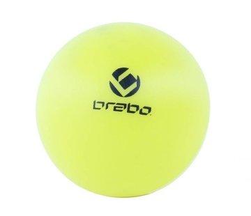 Brabo Straßenhockeyball Gelb