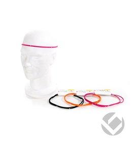 Brabo Haarband Roze smal (2 stuks)