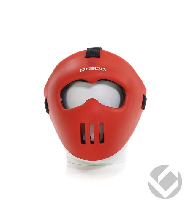 Brabo Facemask Rot all-fit