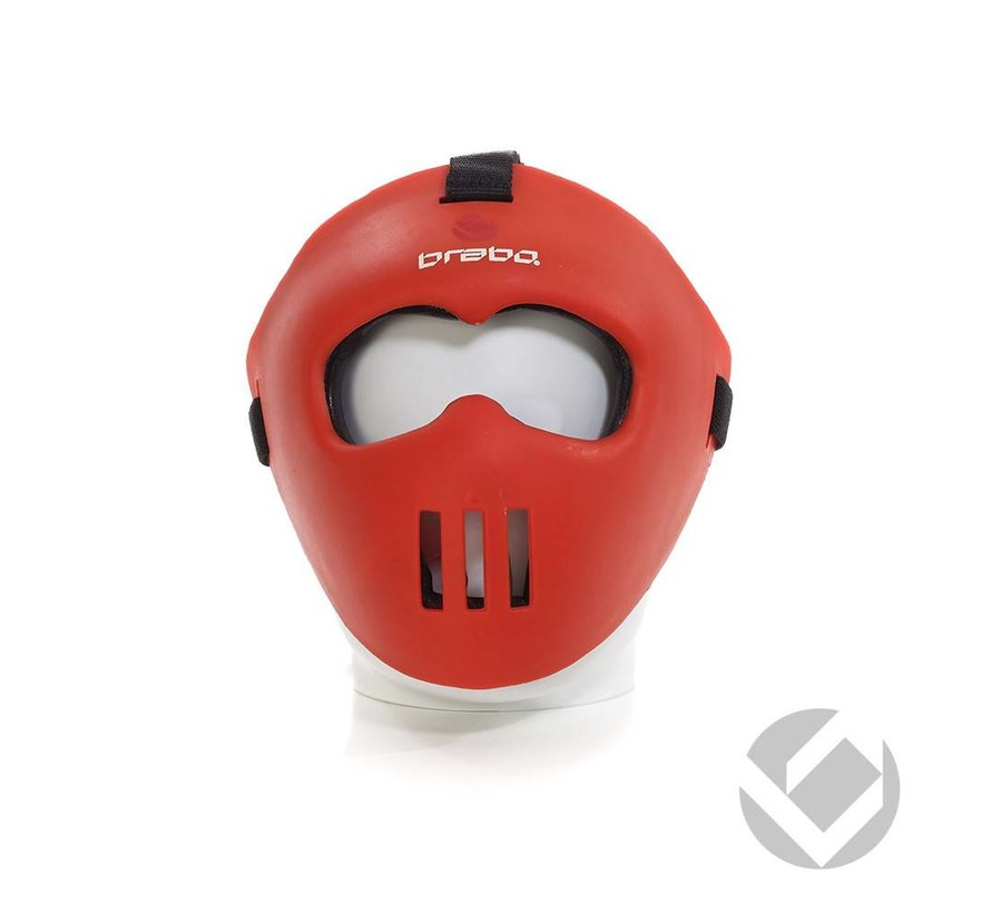 Facemask Rood all-fit