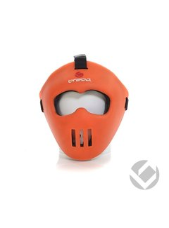 Brabo Facemask Oranje all-fit
