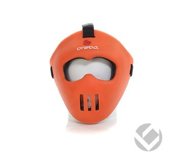 Brabo Facemask Oranje all-fit