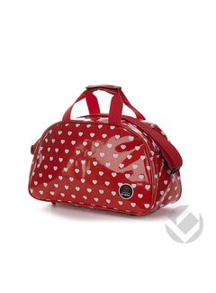 Brabo Shoulderbag Hearts Red