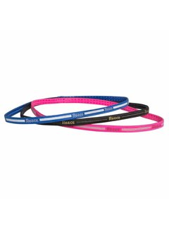 Reece Haarbänder 3 Stück (Rosa/Blau/Schwarz)