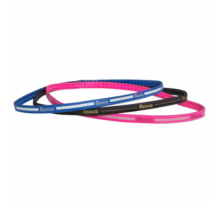 Haarbandjes 3 stuks (Roze/Blauw/Zwart)