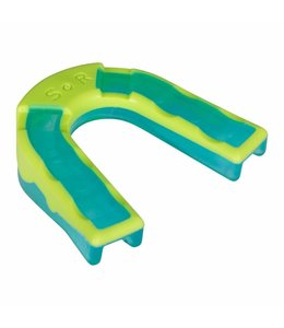Reece Mouthguard Dental Impact Shield Blauw/Groen Junior