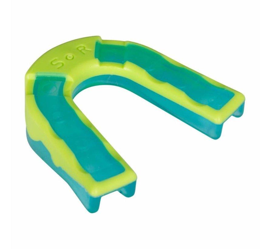 Mouthguard Dental Impact Shield Blau/Grün Junior Reece
