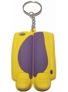 Obo Keyring Purple/Yellow