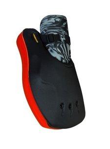 Obo ROBO Hi-Rebound Handprotector Rood/Zwart Links