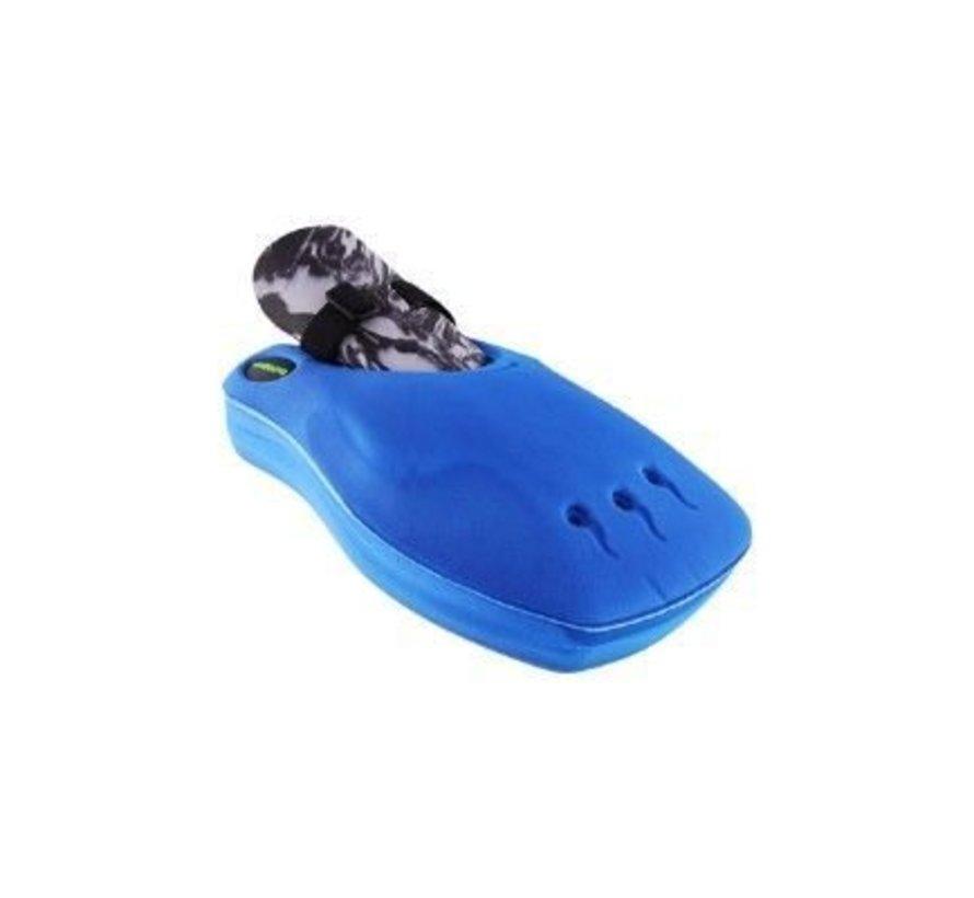 ROBO Hi-Rebound Handprotector Blauw Links