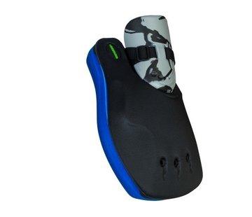 Obo ROBO Hi-Rebound Handprotector Blauw/Zwart Links