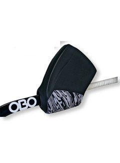 Obo ROBO Hi-Rebound Handprotector Zwart Rechts