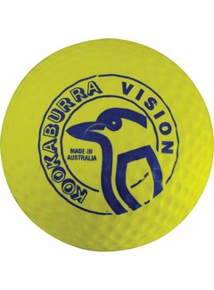 Kookaburra Dimple Vision Yellow Hockeyball