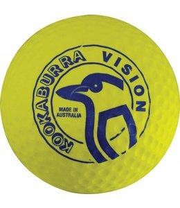 Kookaburra Dimple Vision Gelb Hockeyball
