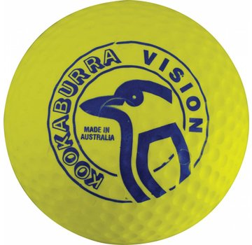 Kookaburra Dimple Vision Geel Hockeybal