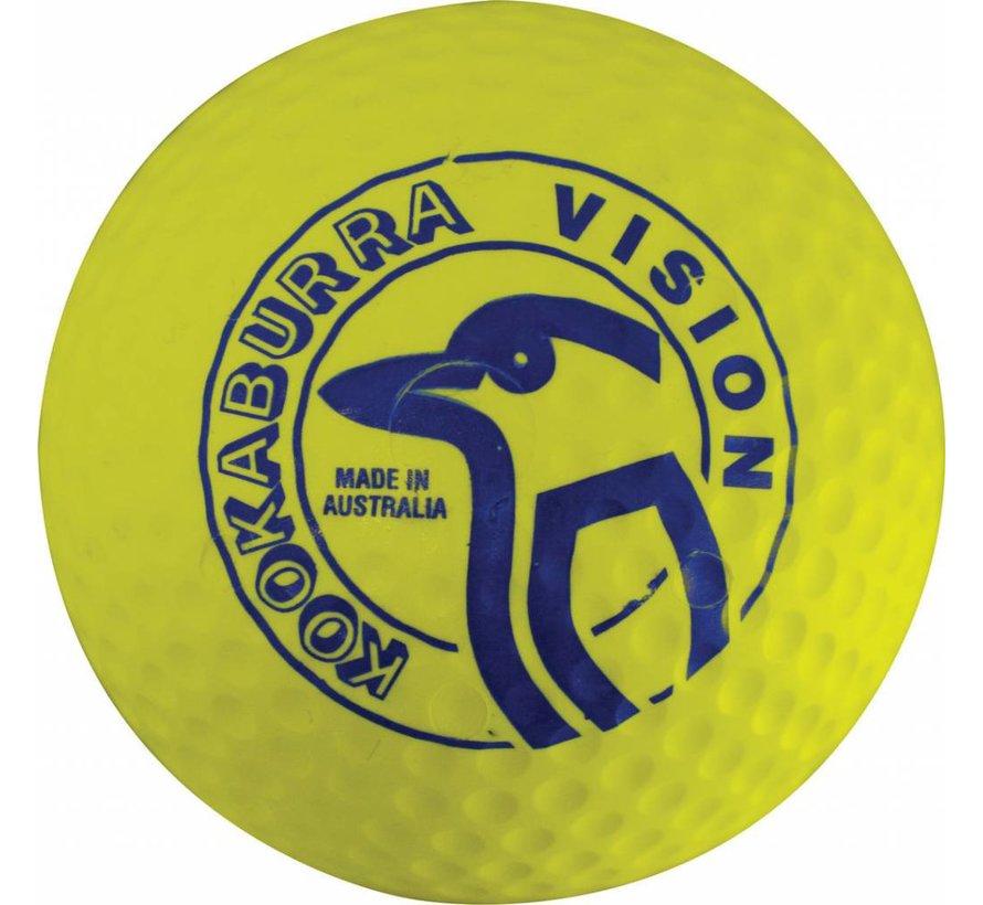 Dimple Vision Geel Hockeybal