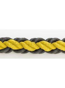 Hockeypoint Hockeyrope Yellow/Black 8cm per 30 meters (price incl VAT)