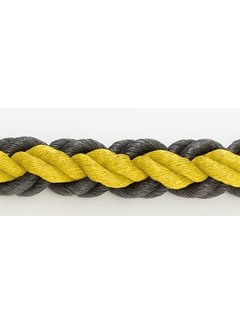 Hockeypoint Hockeyrope Yellow/Black 8cm per 30 meters (price incl VAT)