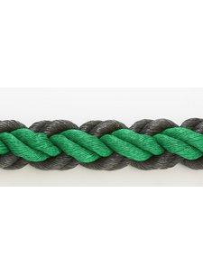 Hockeypoint Hockeyrope Green/Black 8cm per 30 meters (price incl VAT)