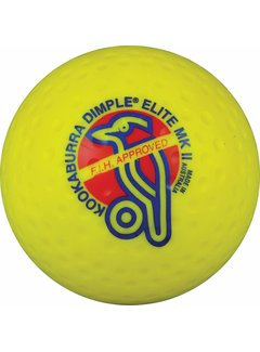 Kookaburra Dimple Elite Yellow Hockeyball