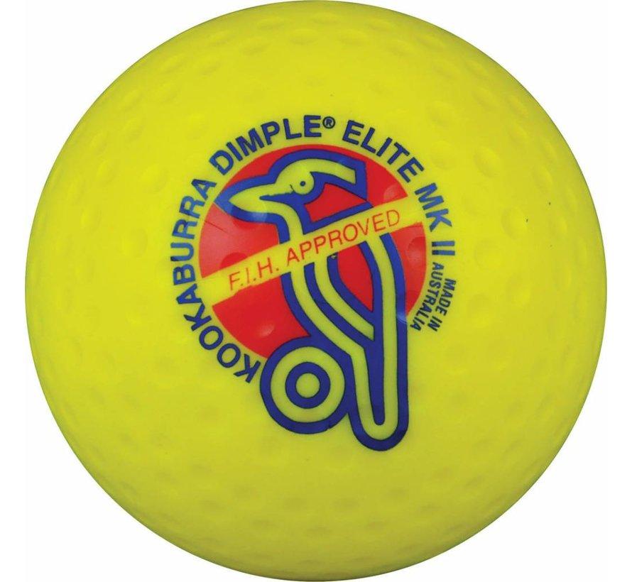 Dimple Elite Geel Hockeybal