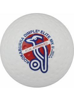 Kookaburra Dimple Elite White Hockeyball