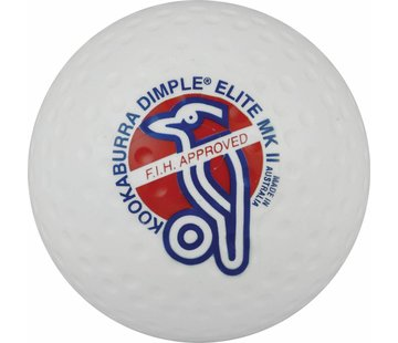 Kookaburra Dimple Elite Weiß Hockeyball