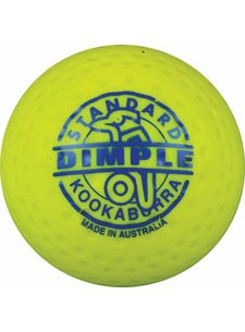 Kookaburra Dimple Standard Yellow Hockeyball