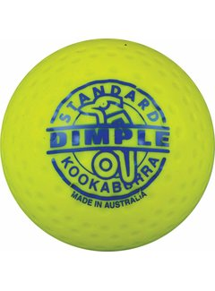 Kookaburra Dimple Standard Yellow Hockeyball