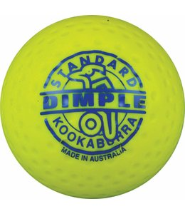 Kookaburra Dimple Standard Geel Hockeybal