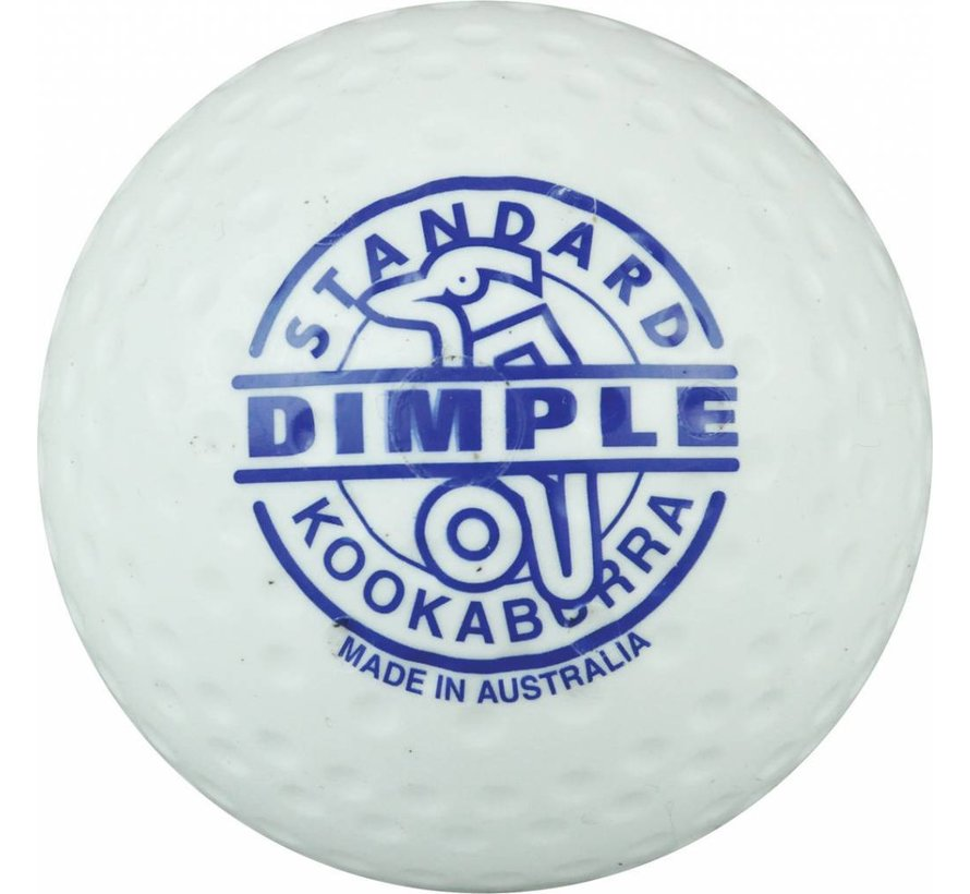 Dimple Standard Wit Hockeybal