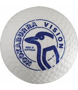 Kookaburra Dimple Vision Weiß Hockeyball