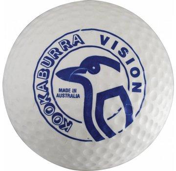 Kookaburra Dimple Vision Wit Hockeybal