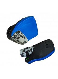 Obo ROBO Hi-Rebound Handprotector Blau/Schwarz Set