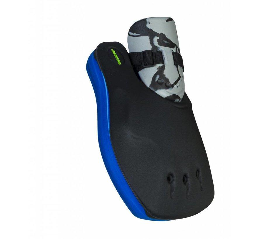 ROBO Hi-Rebound Handprotector Blauw/Zwart Set