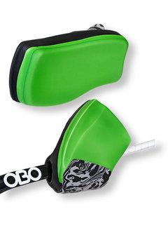 Obo ROBO Hi-Rebound Handprotector Green/Black Set