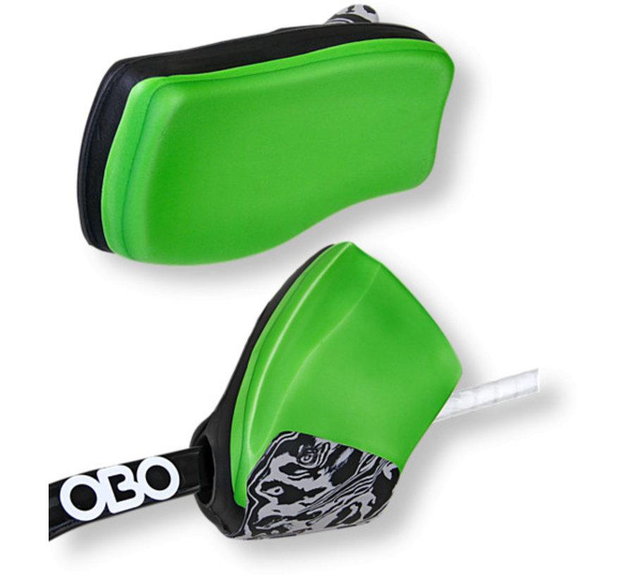 ROBO Hi-Rebound Handprotector Groen/Zwart Set
