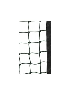 Obo Goalnet knotted with finishing band set for 2