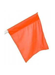 Grote hoekvlag Oranje