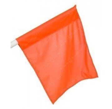 Grosse Flagge Orange