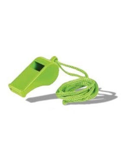 Whistle with chord green