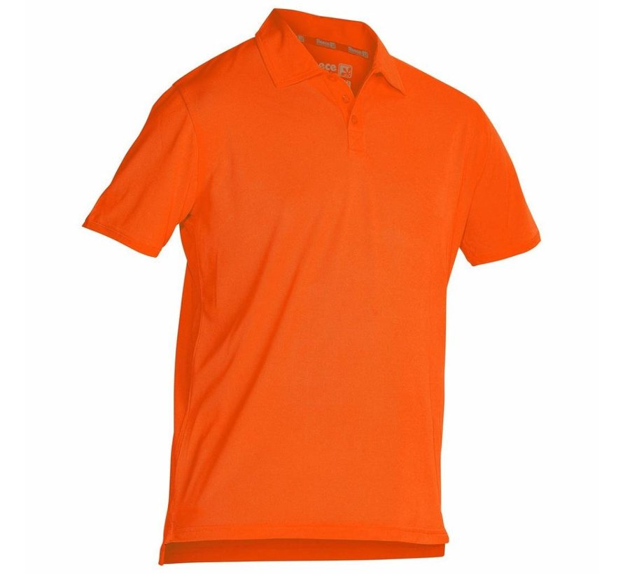 Darwin Unisex climatic polo Oranje