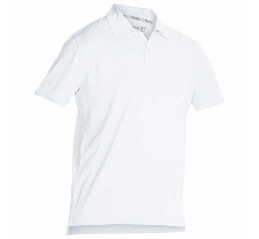 Darwin Unisex Climatic Polo Weiss