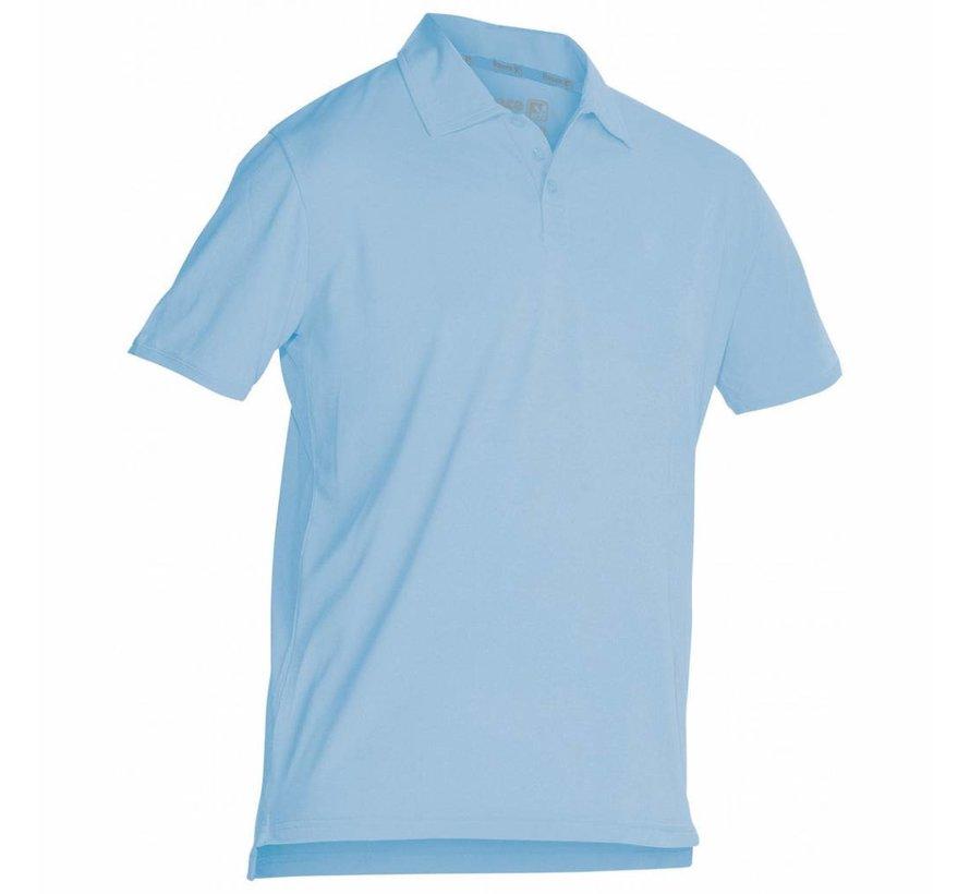 Darwin Unisex climatic polo Lichtblauw